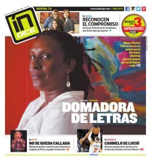 Nuestra querida Mayra Santos Febres fue la historia de portada del periódico Índice y su sección Women Leaders. También, la maestra y gestora cultural del Festival de la Palabra celebró la sexta edición y lanzó este año dos libros, la novela La Amante de Gardel y EL Exilio de los Asesinos y otras historias de amor.