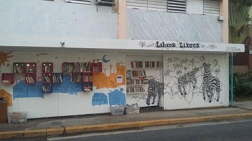 Libros-Libres-Calle-Loiza-San-Juan-Puerto-Rico